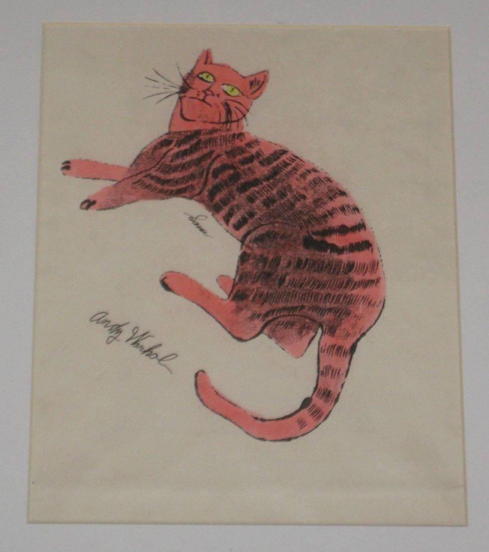 Andy Warhol, Am. 1928-1987 Pink Sam Offset Lithograph