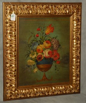 20th C. Dutch School, Oil On Panel, Still Life,