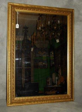 "Carved Gilt-wood Mirror. 30"" X 42"""