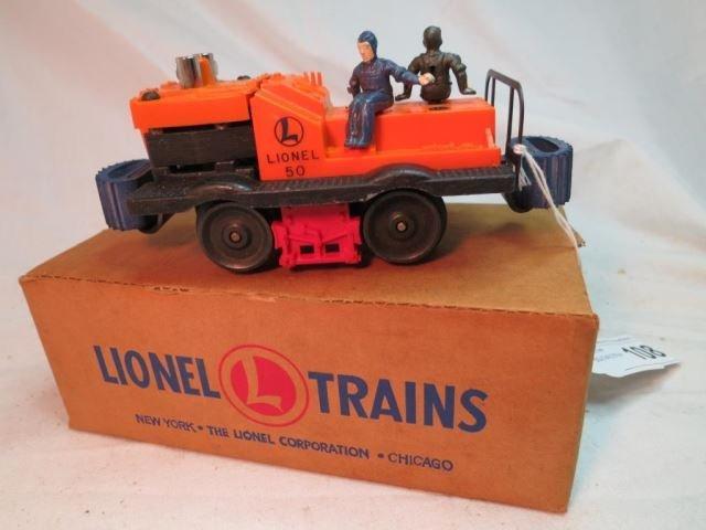 Lionel No. 50 Gang Car with Original Box