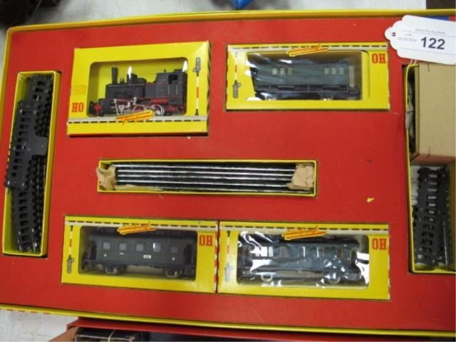 Vintage Fleischmann HO Gauge Train 1315/3 0-6-0