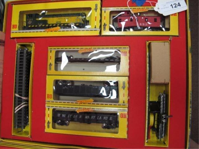 Vintage Fleischmann HO Gauge Train 1340/4G Set
