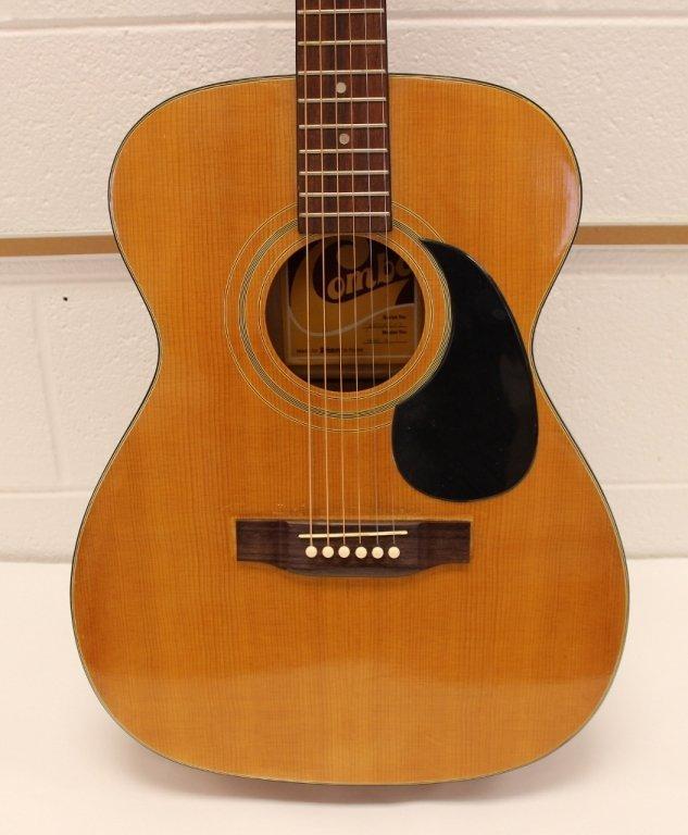 Vtg Selmer GS 10 Combo Acoustic Guitar w/ Case - 2