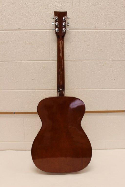 Vtg Selmer GS 10 Combo Acoustic Guitar w/ Case - 4