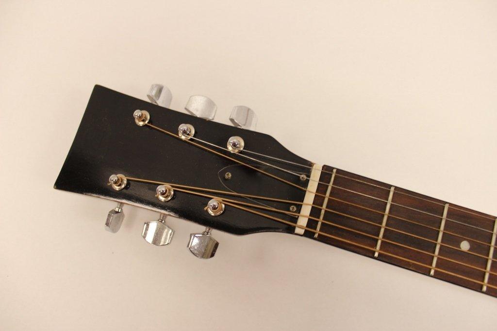 Vtg Selmer GS 10 Combo Acoustic Guitar w/ Case - 6