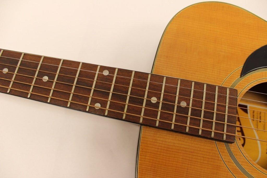 Vtg Selmer GS 10 Combo Acoustic Guitar w/ Case - 7