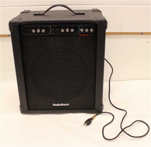 Radio Shack MPS-50 Guitar Amplifier