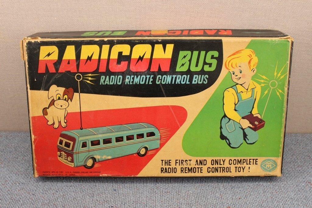 1950's Radicon Remote Control Bus with Box - 2