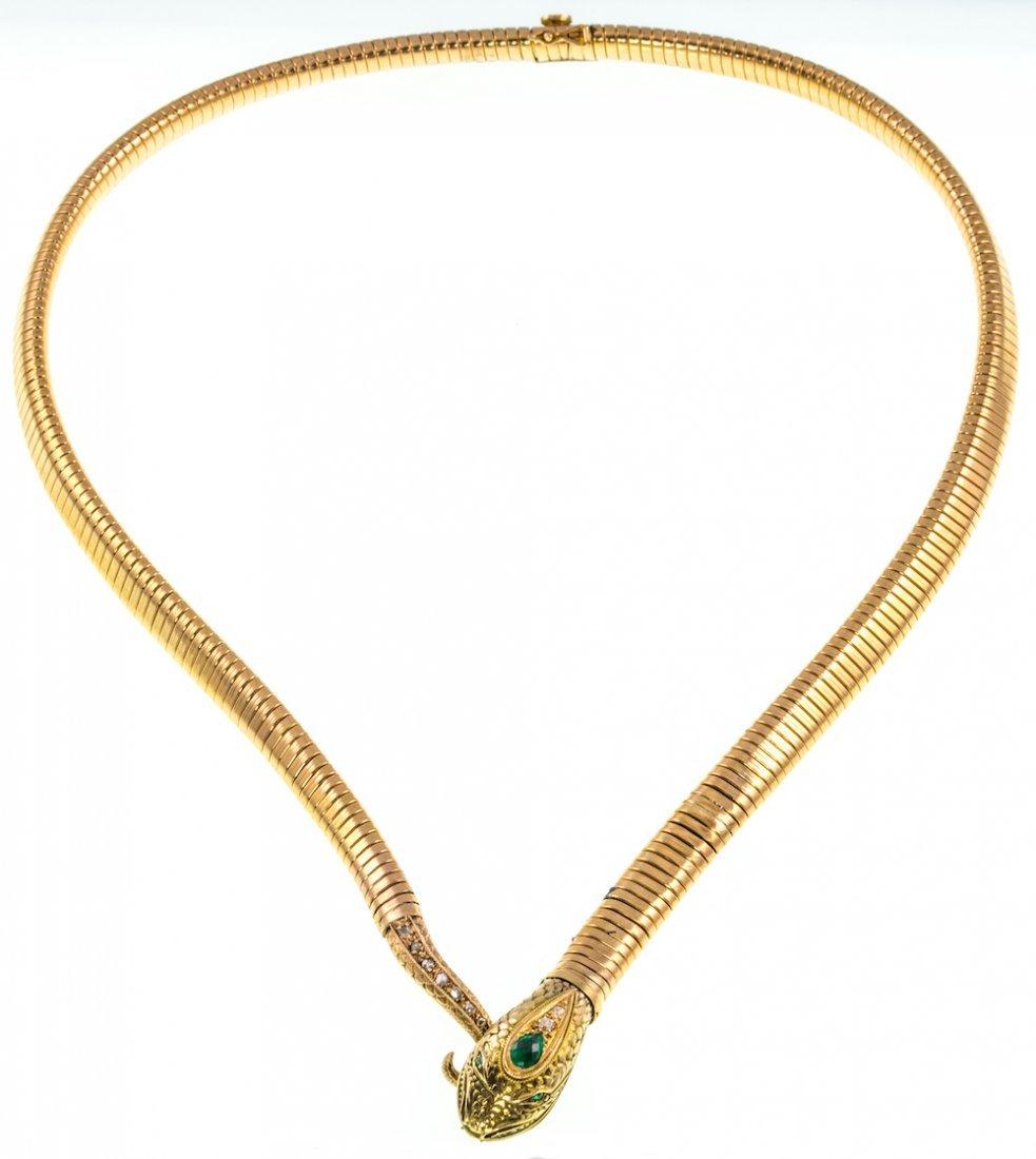 EMERALD, DIAMOND AND GOLD SNAKE - 2