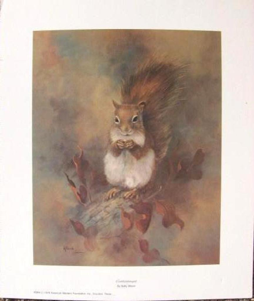 "Betty Allison Print ""Contentment""-S - 4"