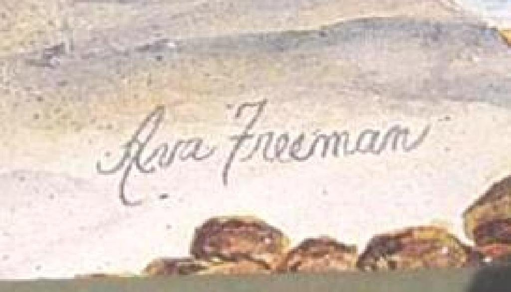 """Watercolor Print """"Geese"""" by Ava Freeman-S - 2"""