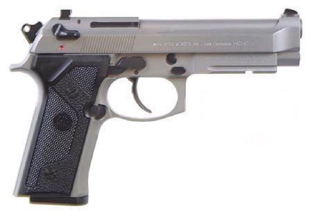 _NEW!_ BERETTA 92FS VERTEC INOX 9MM 082442815558