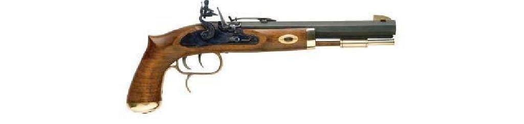 _NEW!_ Trapper Pistol .50 cal Flintlock Select