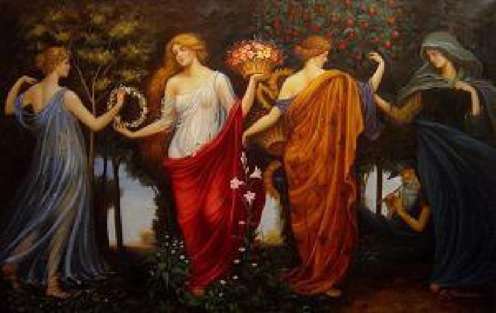 "(ART) A Beautiful Masque Of The Four Seasons"" - Walter"