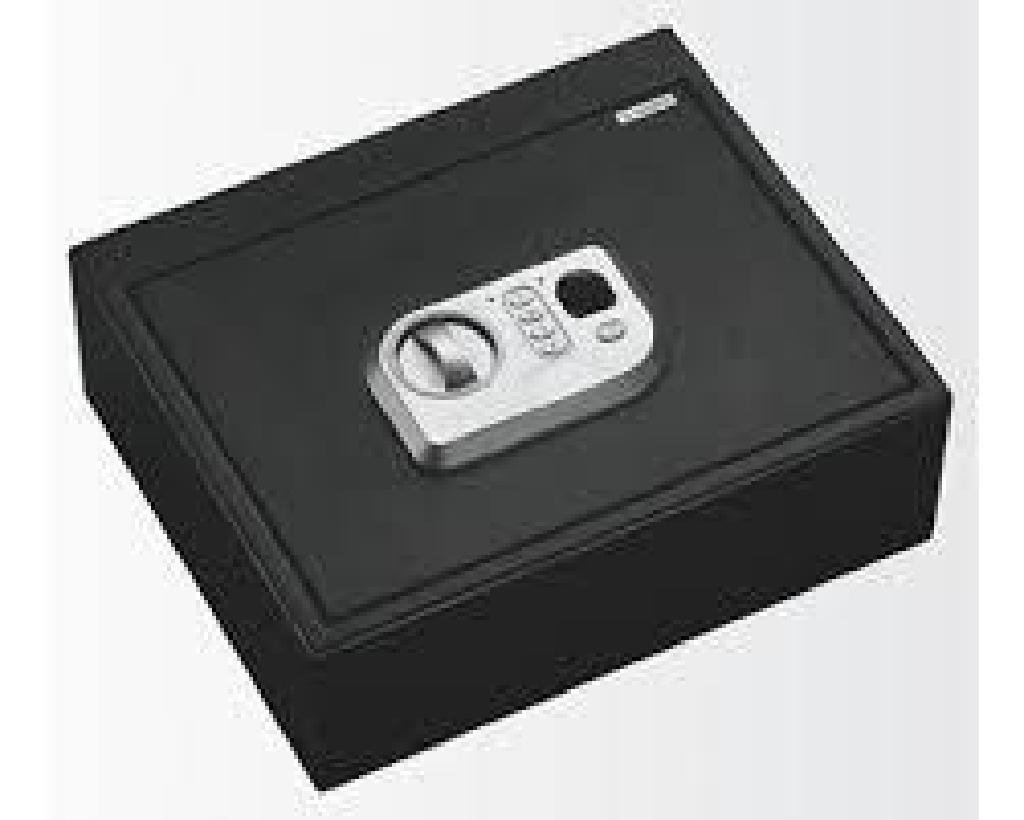 _NEW!_ Stack-On PS5B BIOMETRIC DRAWER SAFE Gun Safe