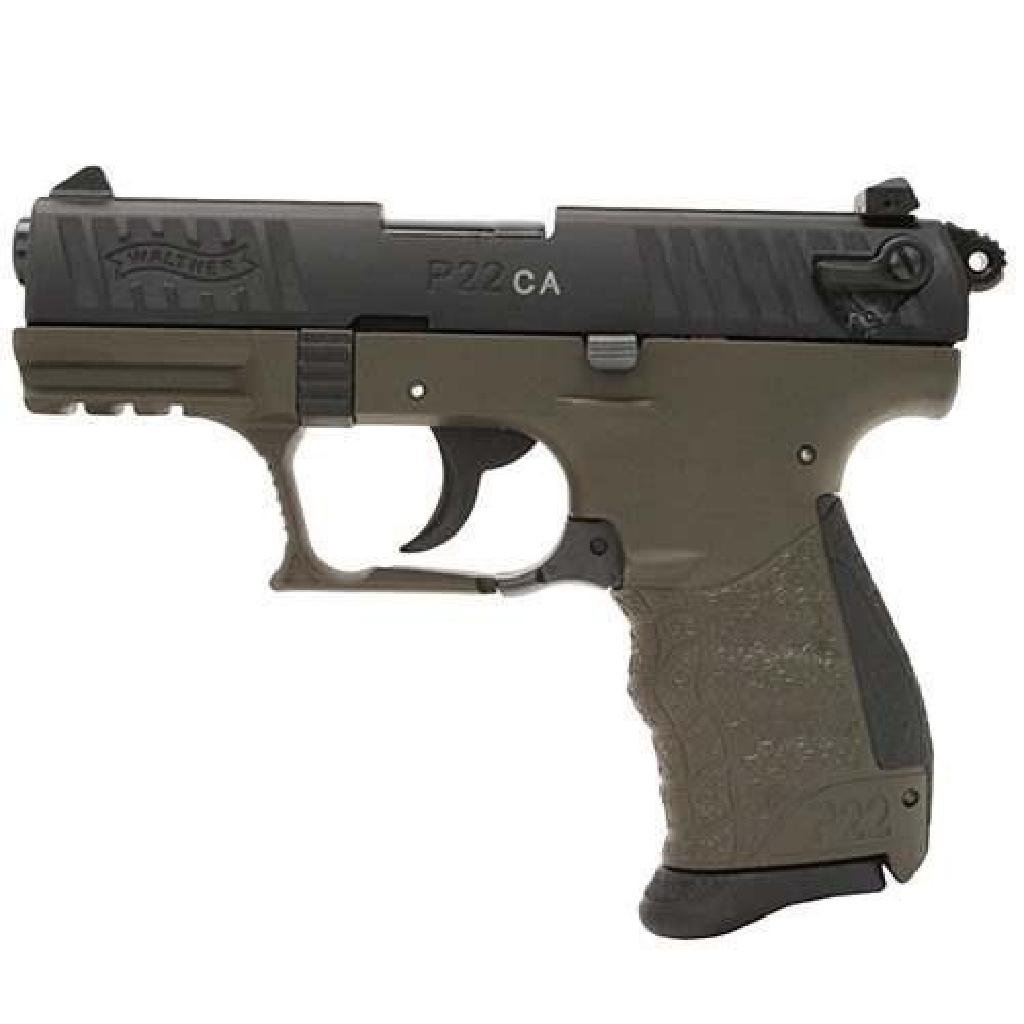!NEW! WALTHER ARMS P22 MILITARY 22 LR 723364200373