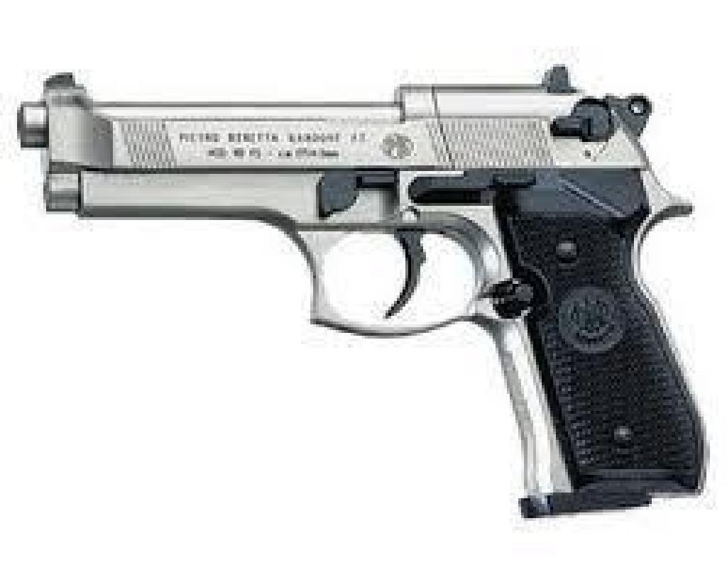 !NEW! RWS 2253001 92 Pistol 4 Piece .177 Nickel