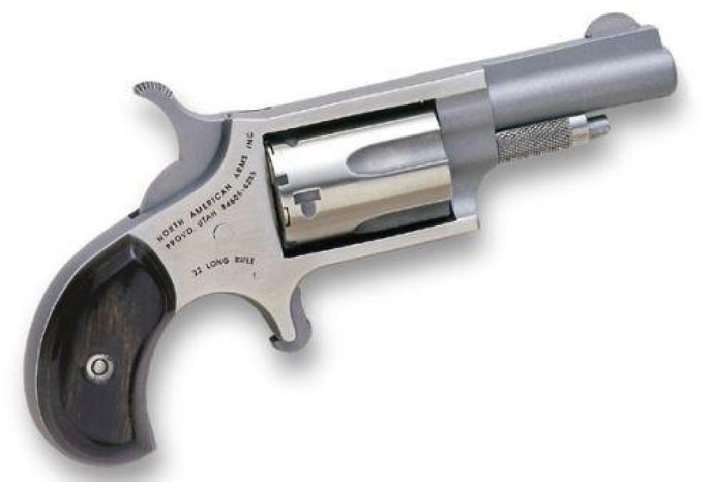 !NEW! NORTH AMERICAN ARMS MINI-REVOLVER 22 LR