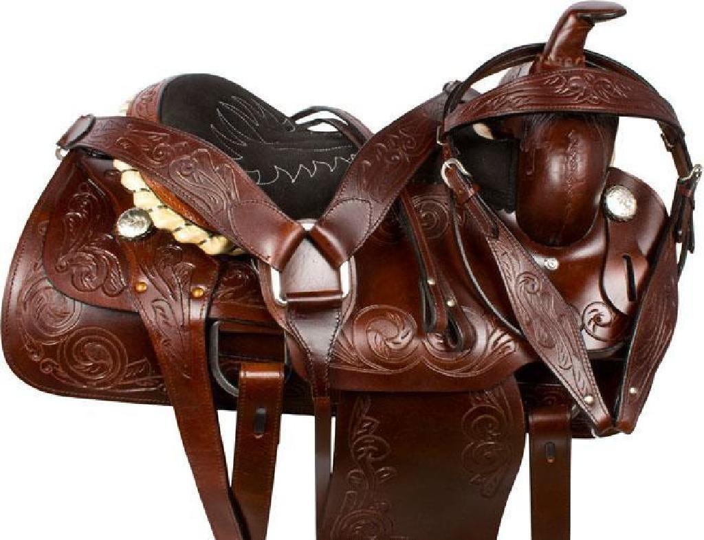 *NEW* Ranch Work Roping Pleasure Western Horse Saddle