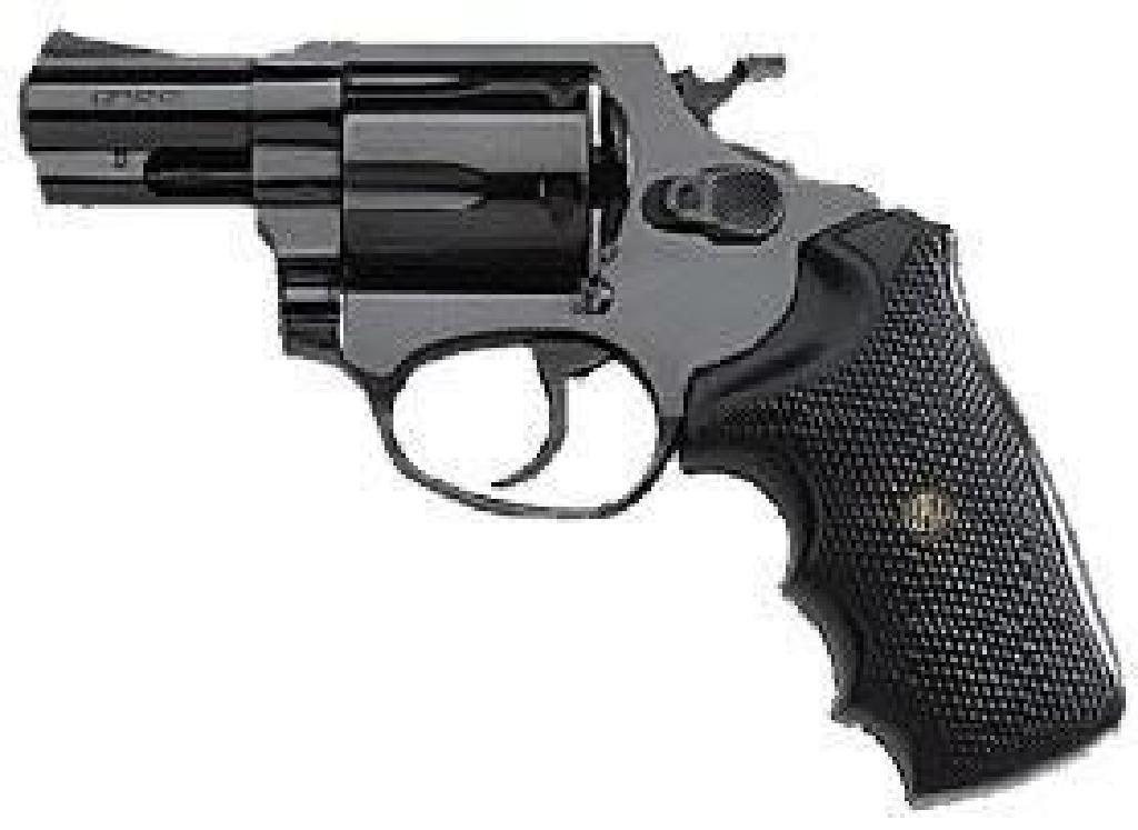 "*NEW* ROSSI Revolver 38 Special 2"" 5rd Black Rubber"