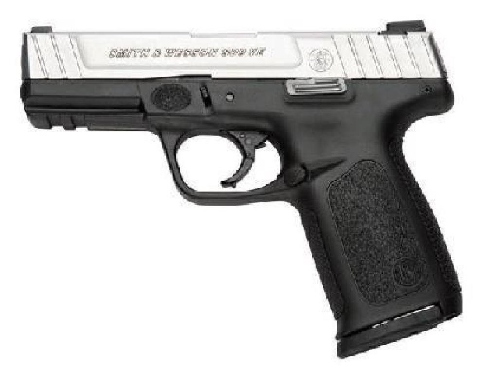 """*NEW* SMITH AND WESSON SD9VE 9MM 4"""" 10+1 Blk Poly Grip"""