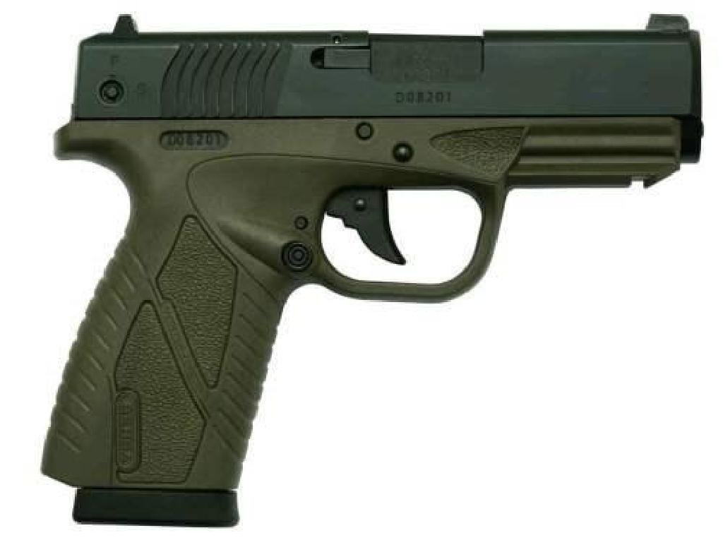 """*NEW* BERSA Concealed Carry DAO 9mm 3.3"""" 8+1 OD Poly"""
