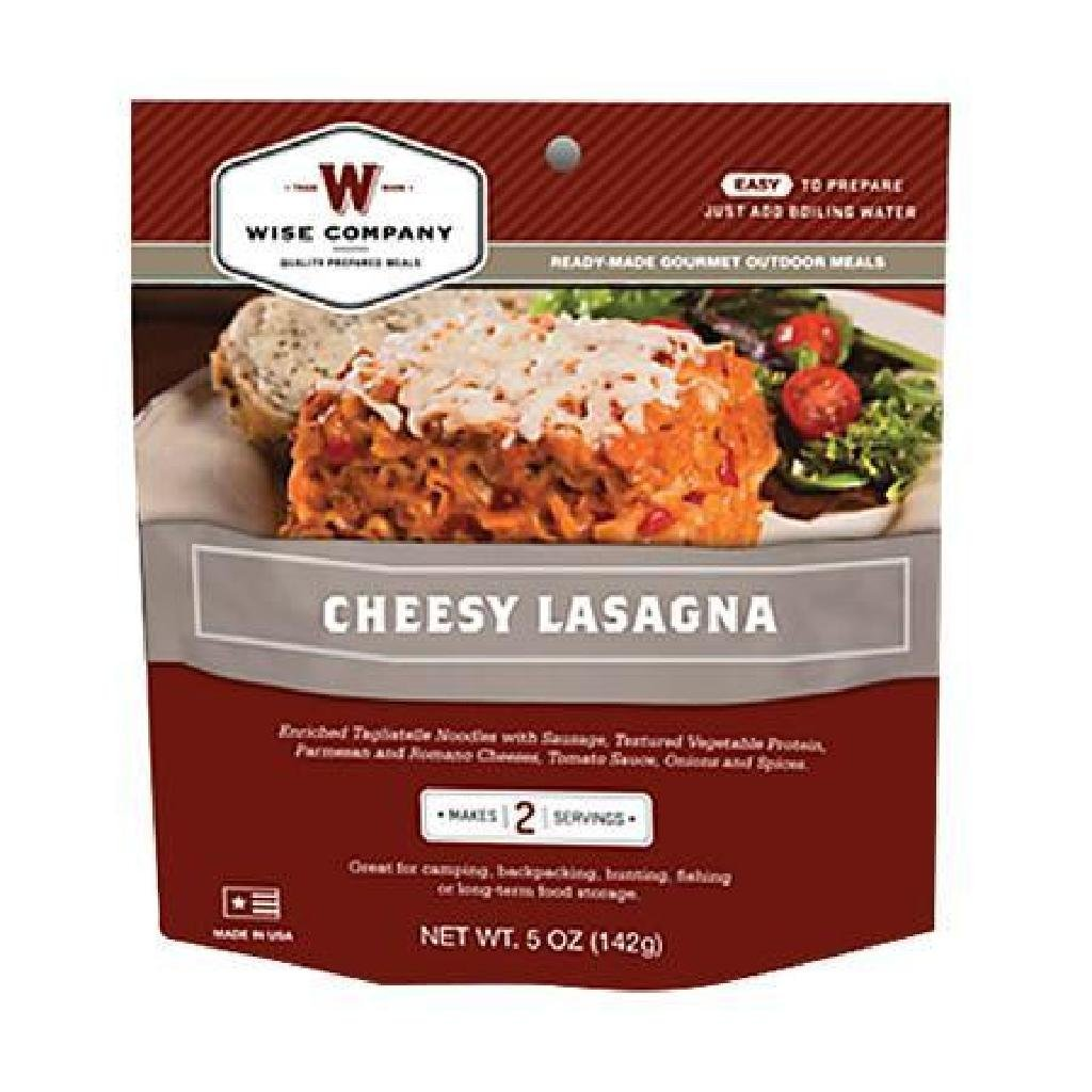 !NEW! Wise Foods 05201 Outdoor Camping Pouches Cheesy