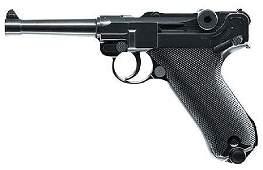 NEW RWS 2251800 Luger P08 Air Pistol SemiAuto 177