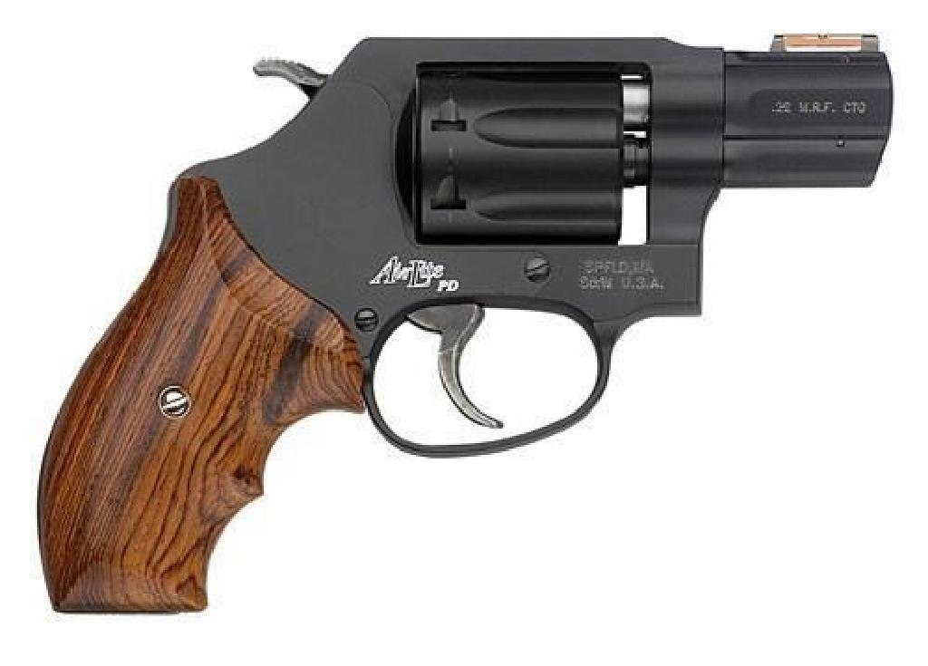 "*NEW* SMITH AND WESSON 22 MAGNUM 1.87"" 7RD Wood Grip"