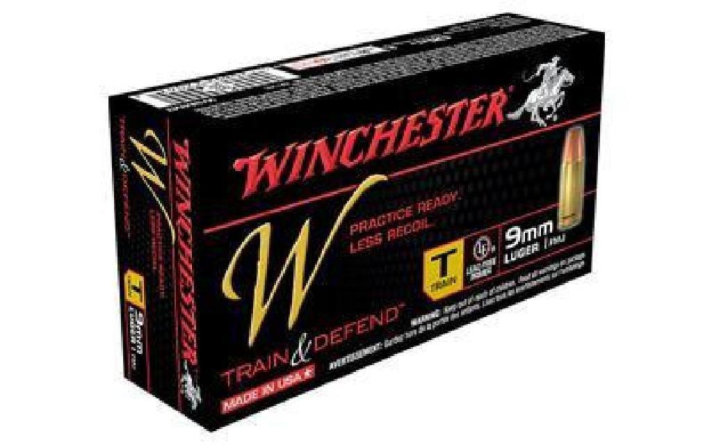 *AMMO* Winchester Ammo W9MMT Train 9mm Full Metal