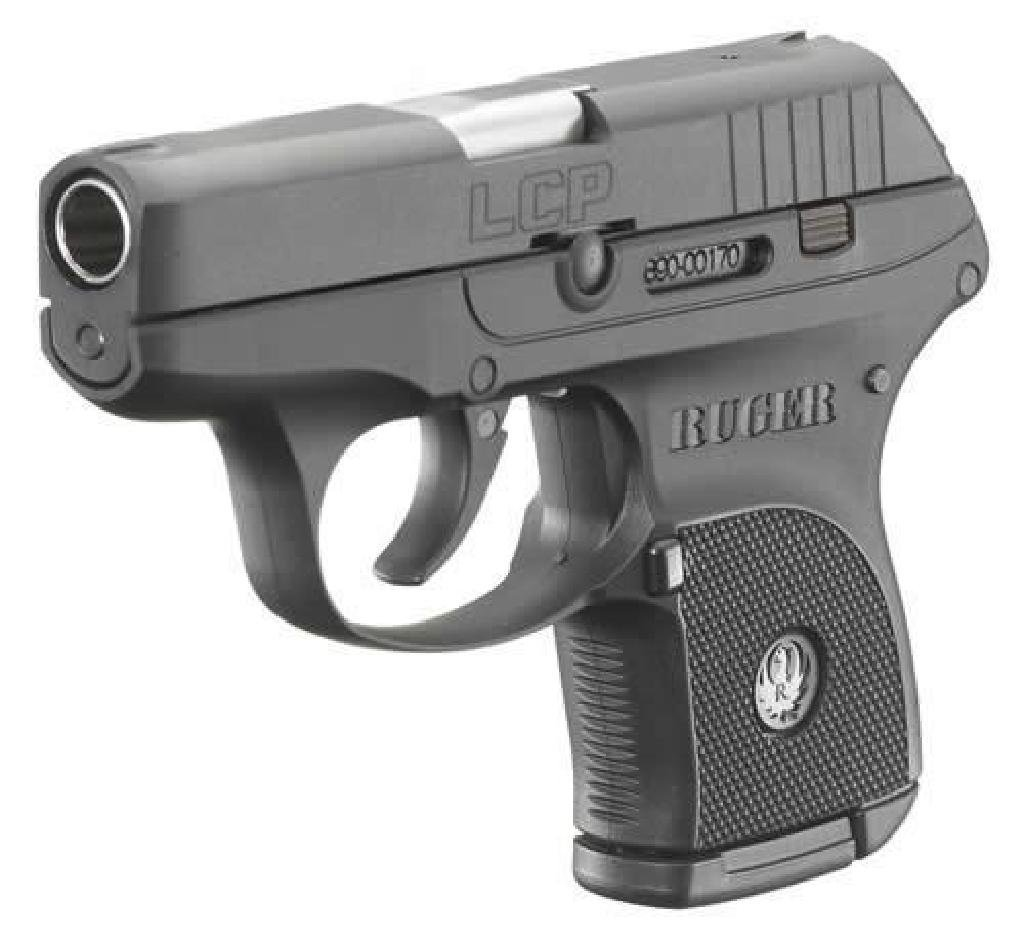 """*NEW* RUGER LCP 380 ACP 2.75"""" 6+1 BLK GRIP WITH CASE"""