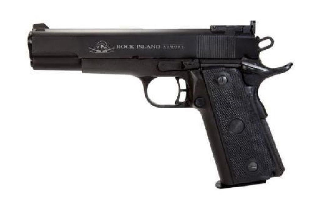 _NEW!_ ROCK ISLAND ARMORY M1911-A2 22TCM TARGET 9MM /
