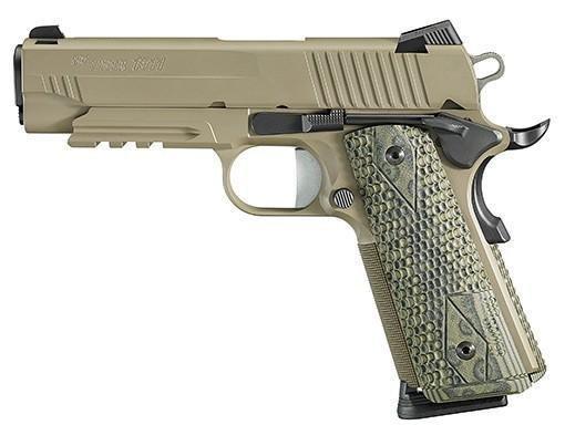 "*NEW* Sig Sauer 1911 Carry Scorpion 45ACP 4.2"" 8+1"