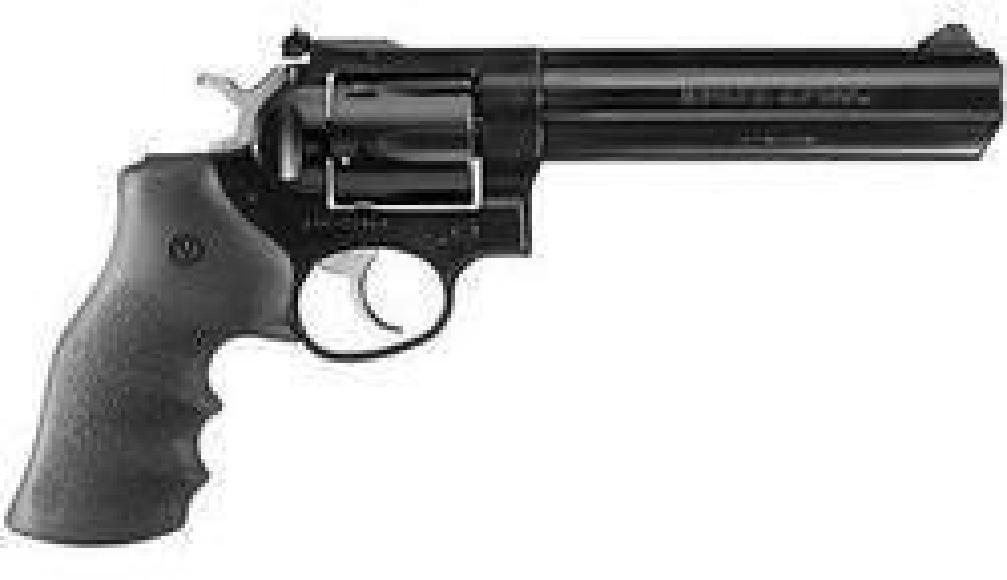 """*NEW* RUGER 357 Mag Alloy Steel 6"""" Hvy Barrel 6rd Blk"""