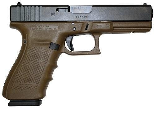 "_NEW!_ GLOCK G21 G4 FLAT DARK EARTH 45ACP 4.6"" 13RD"