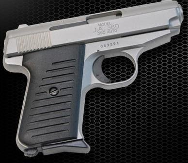 _NEW!_ MODEL J.A.A380 PISTOL CHROME FINISH (PC/PC)