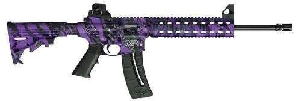 _NEW!_ SMITH AND WESSON M&P15-22 PURPLE PLATINUM 22 LR