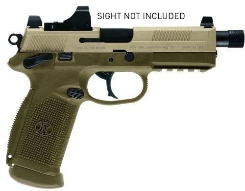 "*NEW* FNH USA FNX-45 TACTICAL 45 ACP 5.3"" TB 15RD"