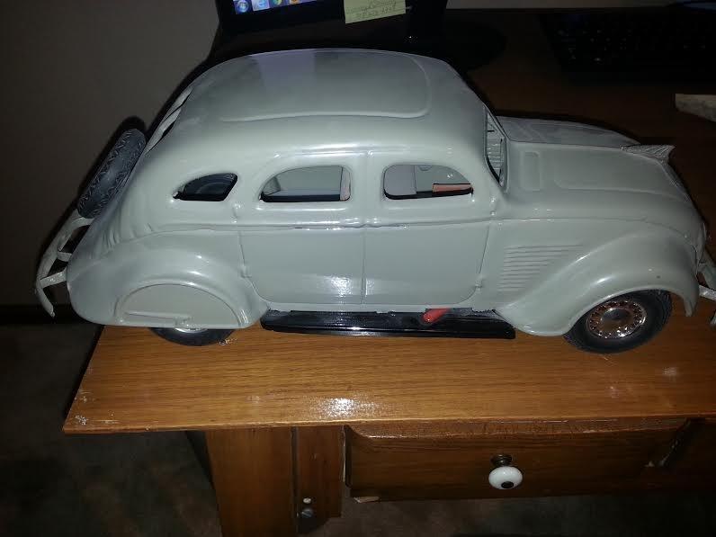 1937 Chrysler Airflow Cor-Cor Toy
