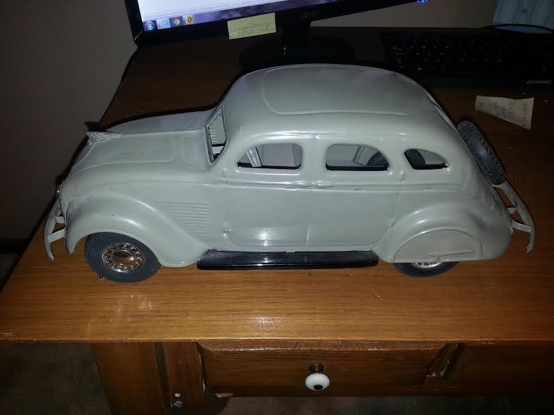 1937 Chrysler Airflow Cor-Cor Toy - 2