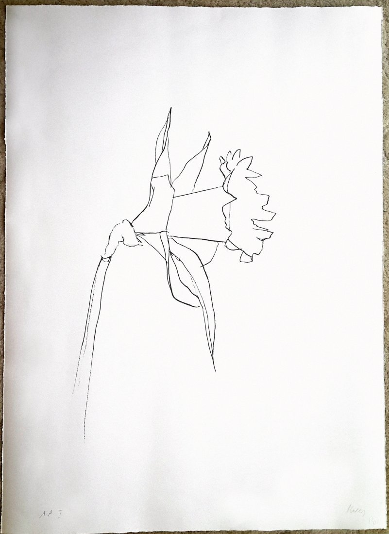 Ellsworth Kelly Daffodil, 1979-80 (G.2013)