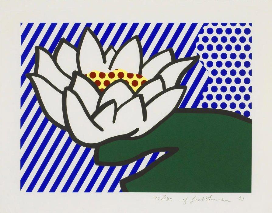 Roy Lichtenstein: Waterlily: 1993