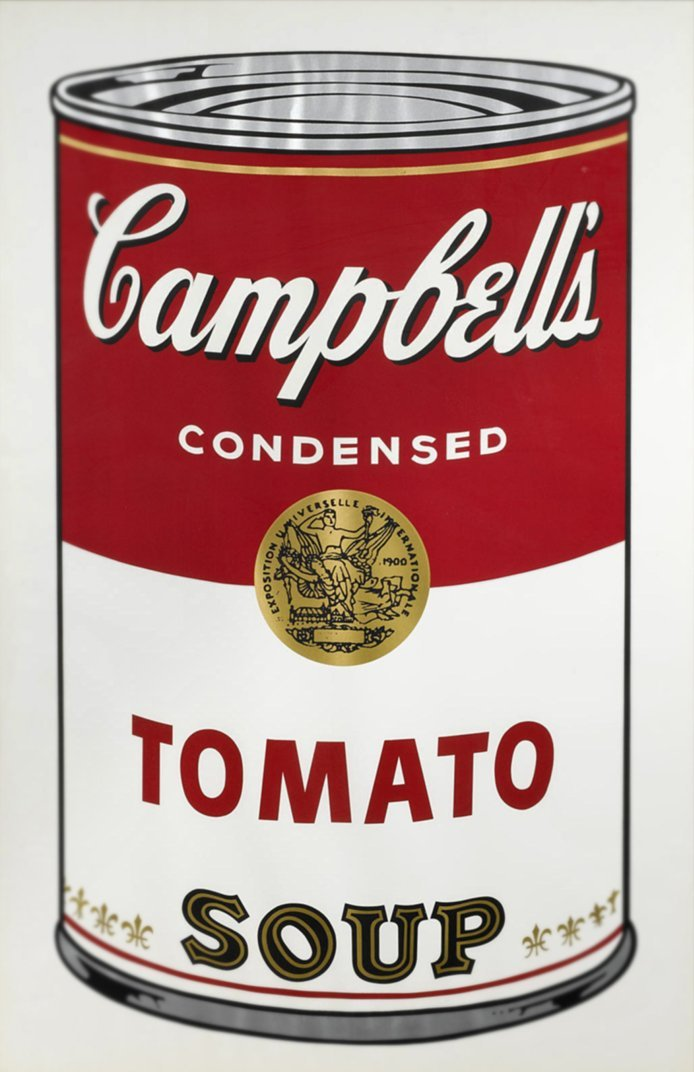 Campbell's Soup Can (1968 edition): Andy Warhol