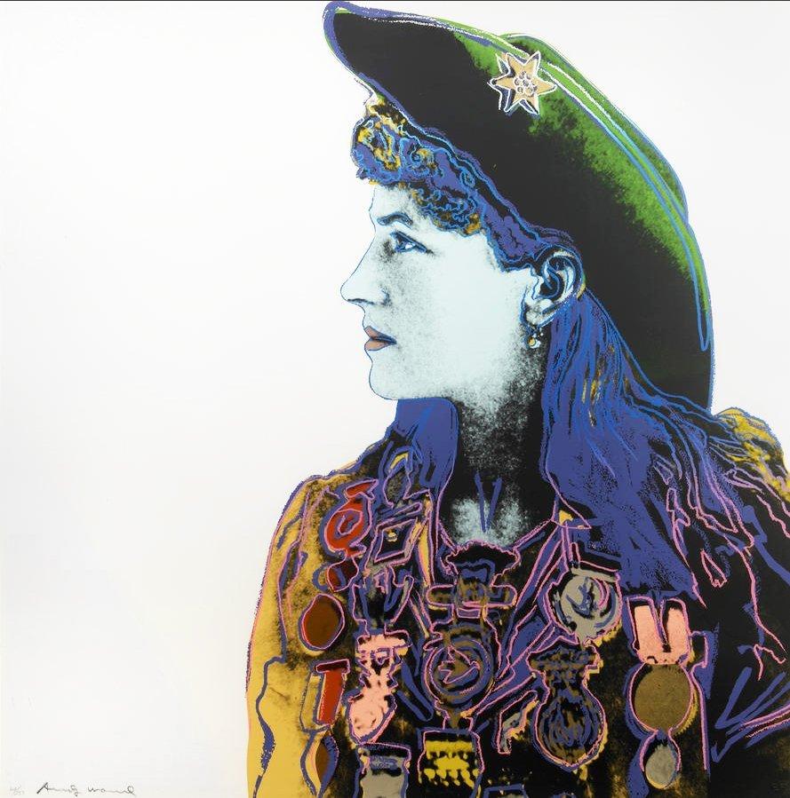 Andy Warhol Annie Oakley, 1986