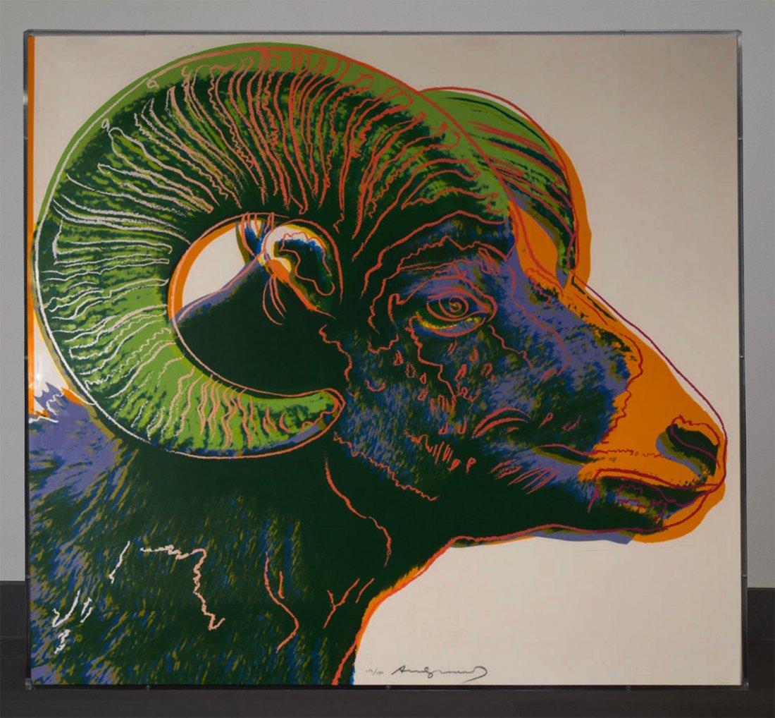 Andy Warhol; Sitting Bull; 1986