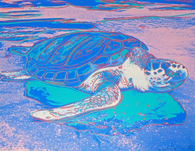 Andy Warhol: Turtle: 1985