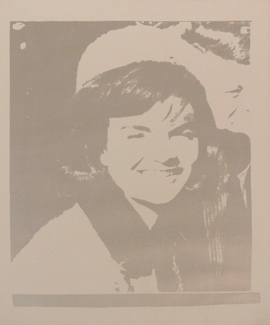 Jacqueline Kennedy I (Jackie I), 1966: Andy Warhol