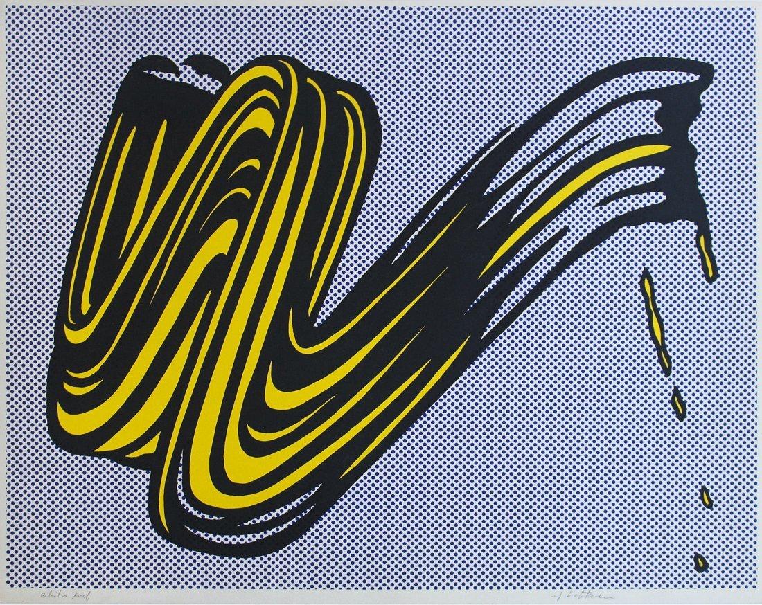 Roy Lichtenstein: Brushstroke: 1965