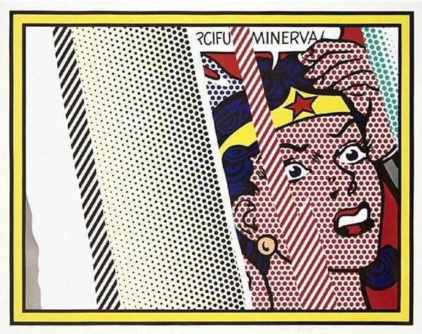 Roy Lichtenstein: Reflections on Minerva, 1990