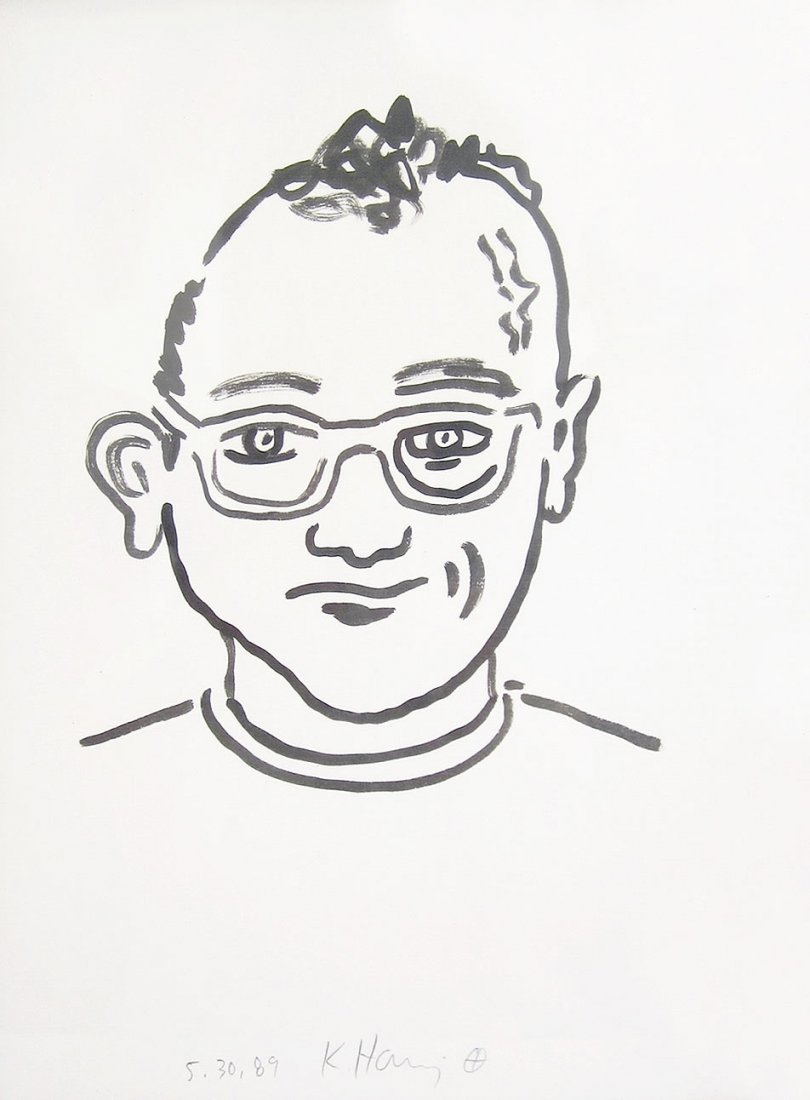 Keith Haring: Untitled (Self Portrait), 1989